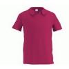 Рубашка-поло с воротником связанным резинкой