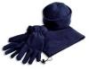 Шапка, шарф и перчатки